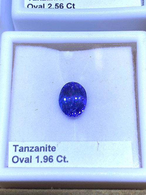 Oval 1.96 tanzanite