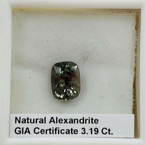 Natural Alexandrite 3.19 Ct