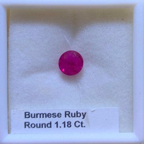 Burma Ruby Round