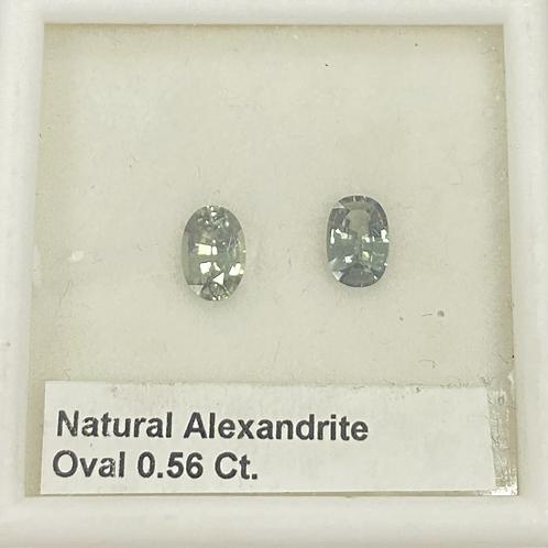 Alexandrite Oval 0.56 Ct