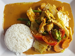 Chicken yellow curry