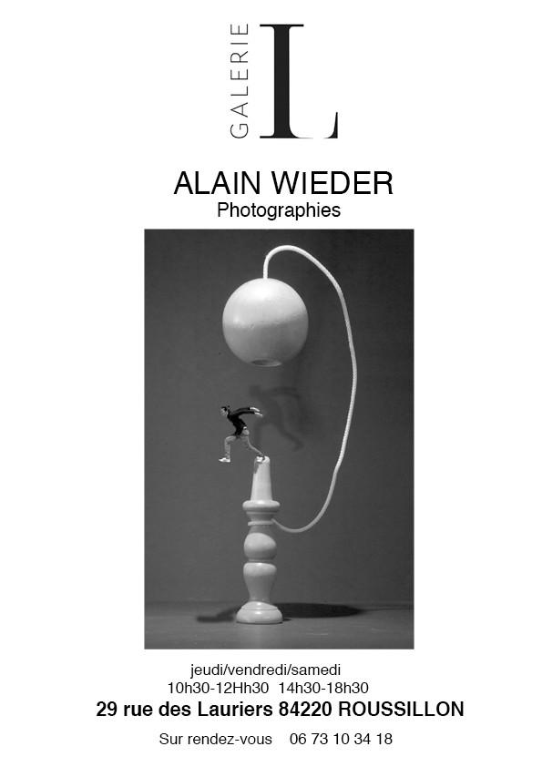 Nouvelle exposition - Nouvelle ambiance. Alain WIEDER jusqu'au 12 juin 2021