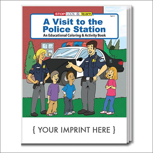 A Visit To The Police Station Coloring Books