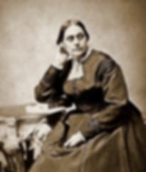 B&W portrait of Susan B. Anthony