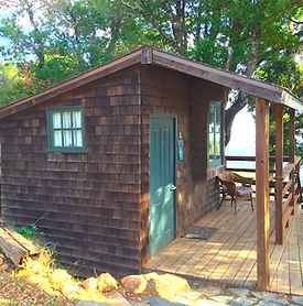 Exterior of Toby Cabin
