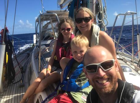 Sailing around the world with kids