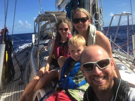 Sailing around the world with kids