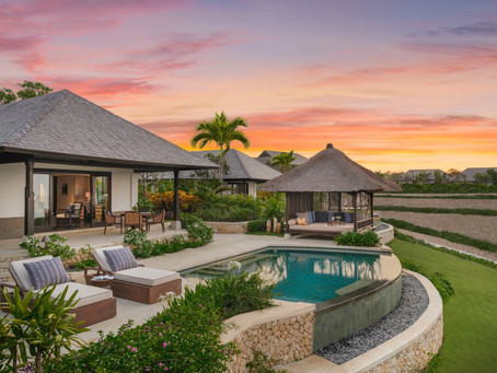 Soft-opening for Raffles Bali