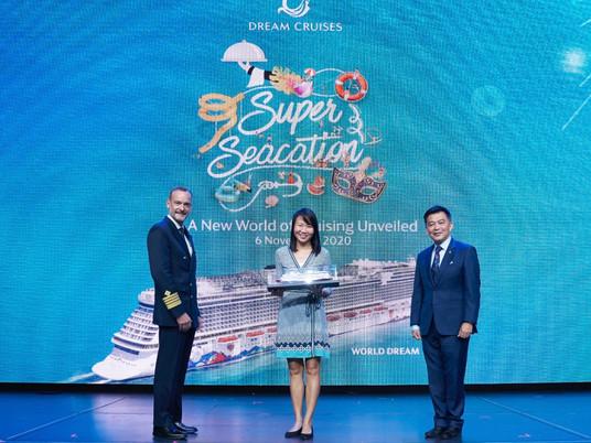 Dream Cruises sets sail in Singapore