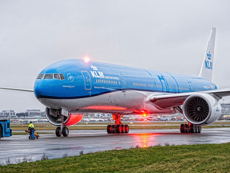 KLM suspends all long-haul flights