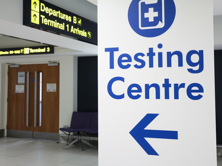UK airports launch Covid testing centres