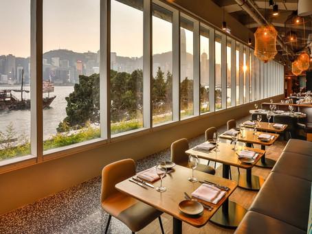 Dining at Hue on Hong Kong's Victoria Dockside