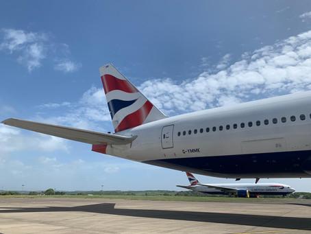 British Airways resumes Hong Kong flights