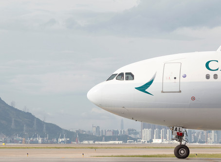 Cathay reports 'precipitous' drop in passenger demand