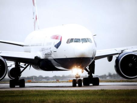 British Airways flights ready to take-off for Hong Kong