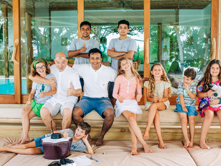 Desert island learning for teens in Maldives