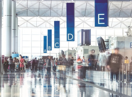 Hong Kong Airport cleans up