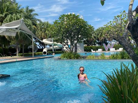 Sun and fun at W Singapore - Sentosa Cove