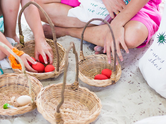 Fun and treats on the beach for kids this Easter