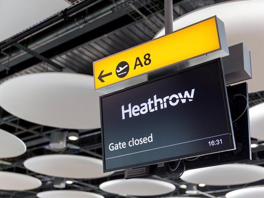Hong Kong to ban British flights
