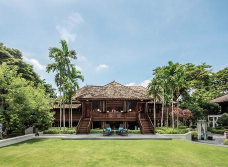 Thai teak, tea and time-out at 137 Pillars House