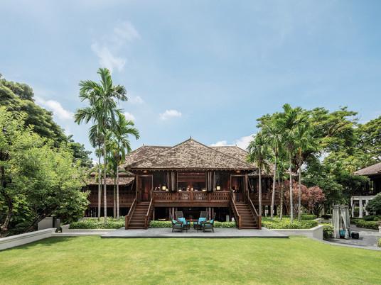 Teak tours at heritage 137 Pillars House Chiang Mai