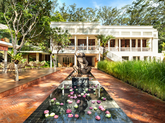 The heritage Foreign Correspondents Club Angkor has opened