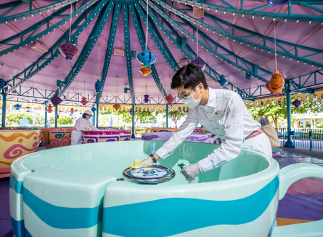 Hong Kong Disneyland reopens with restrictions