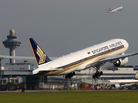 Singapore Airlines takes off with fully vaccinated crews