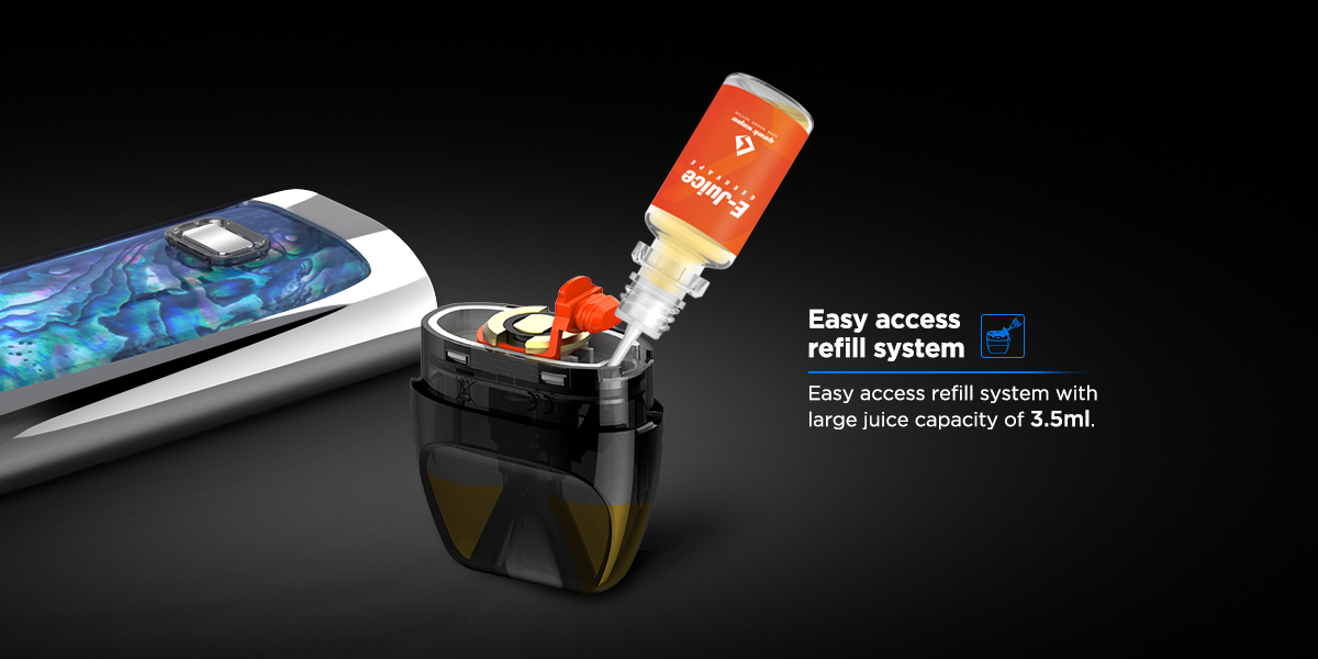 Geekvape Bident pod refill system