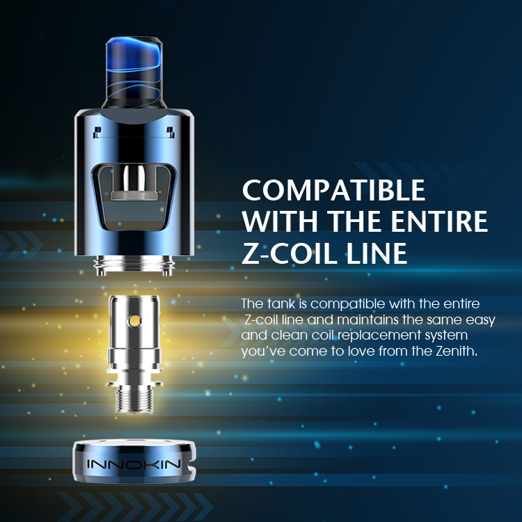 Innokin Zlide coil compatibility