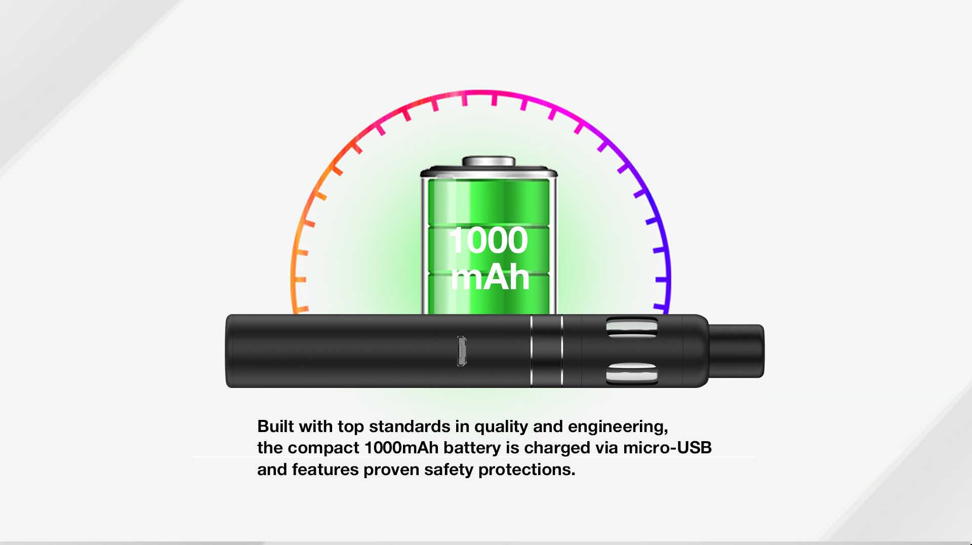 T18 II mini 1000mAh battery