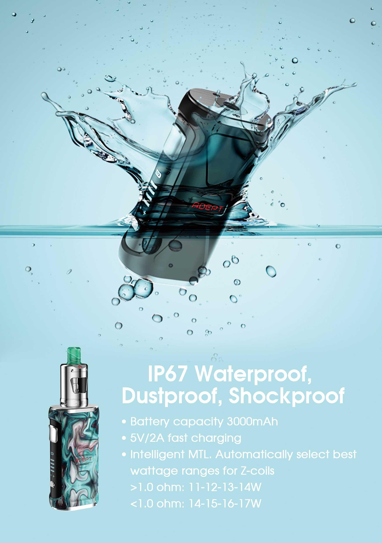 Adept Zlide waterproof