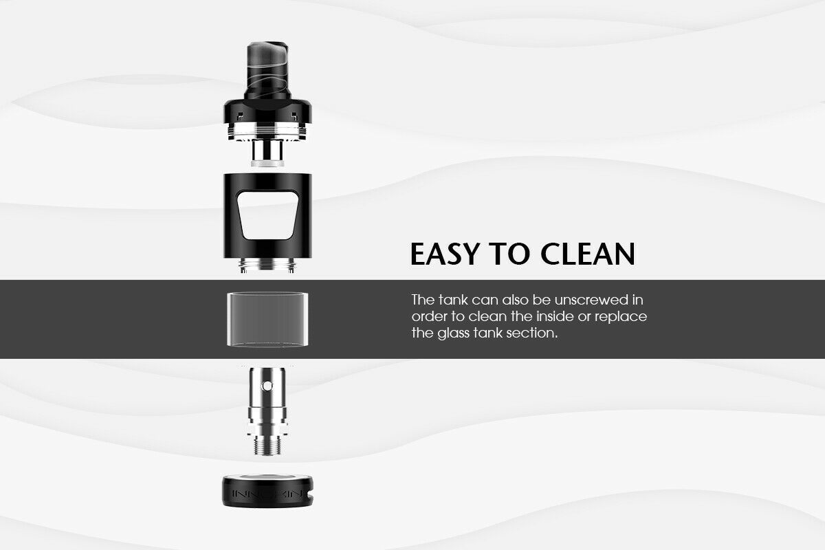 Innokin Zlide easy to clean
