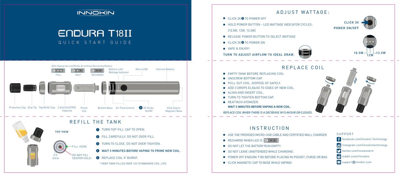 T18II kit user manual