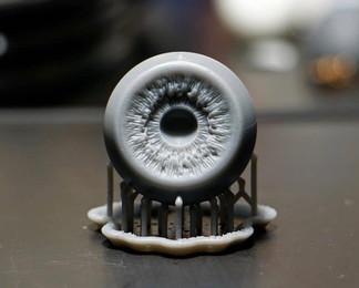 Глаз фотополимерная 3д печать