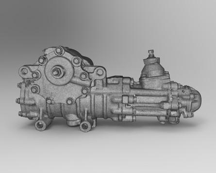 МКПП 3д сканирование узлов и агрегатов автомобиля