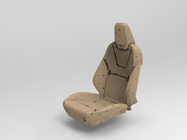Проект АVIAR Кресло электромобиля Tesla Обшивка