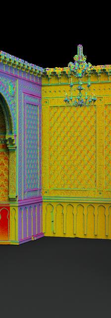 Мавритански зал. Особняк Маргариты Морозовой