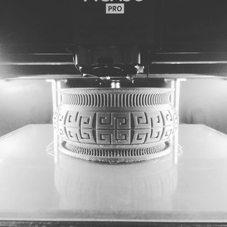 Вазон. 3д печать. пластик
