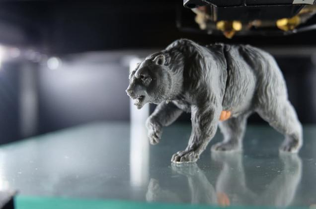 Медведь FDM печать. ABS Пластик.