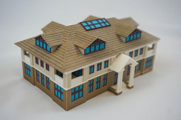 3d печать гипсом в архитектуре и строительстве