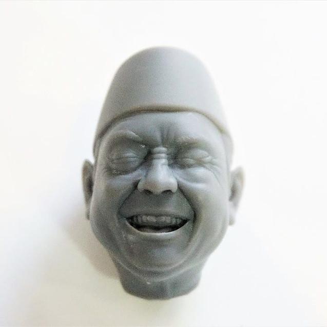 3d печать головы SLA фотополимер