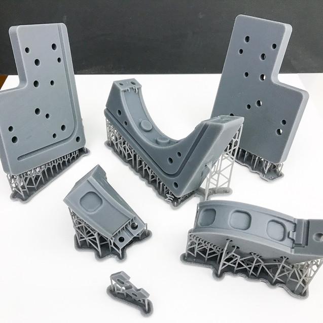 3d печать деталей/ Фотополимер SLA