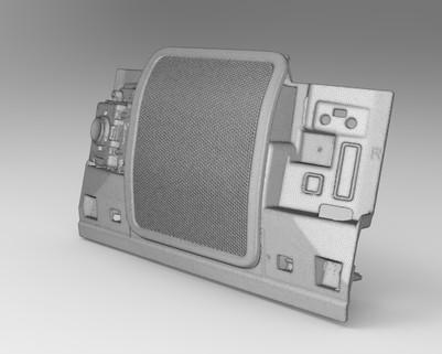 Панель 3д сканирование рендер