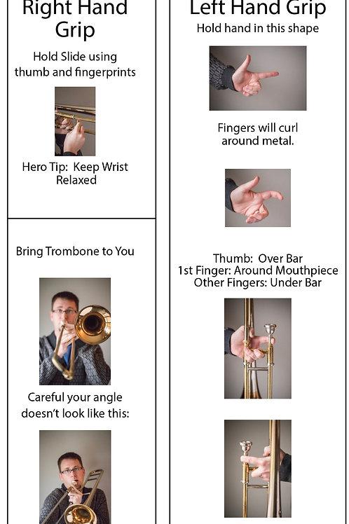 Logical Fingering Charts (Slide Brass)