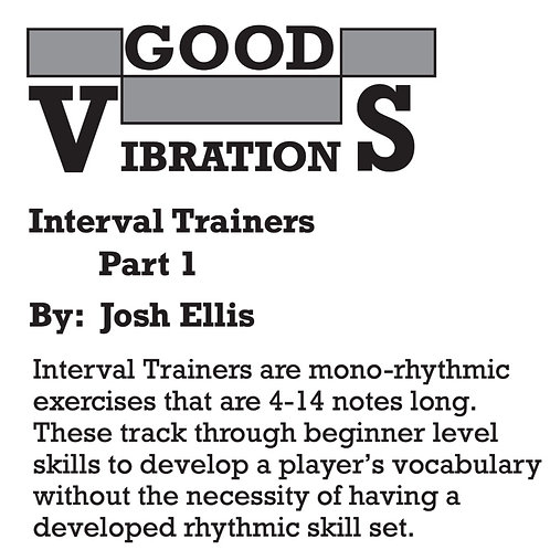 Interval Trainer Book 1