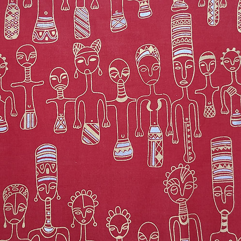 Tribal (Red)