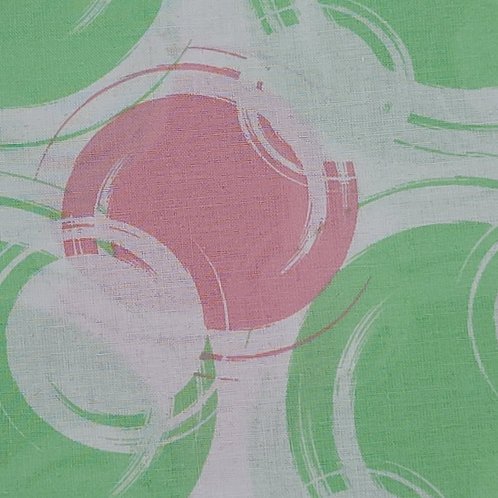 Pink & Green Bubbles