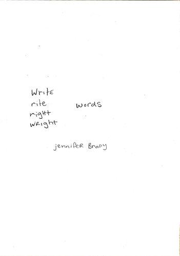 Write Words [Digital Download]